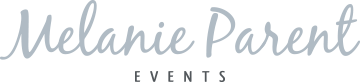 Melanie Parent Events | Winnipeg Wedding & Events Planner Logo
